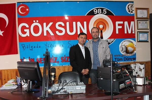 Göksun'un Tek Radyosu,Göksun Fm'i ziyaret ettik!