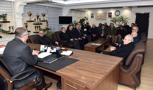 Dağıstanlılardan Başkan Aydın'a Destek Ziyareti!