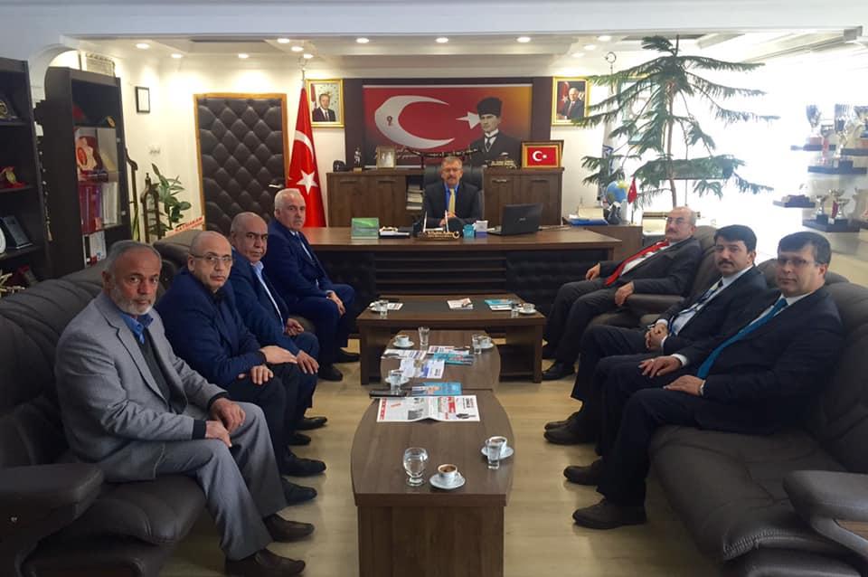 MARAŞFED Yönetiminden Başkan Aydın'a ziyaret!