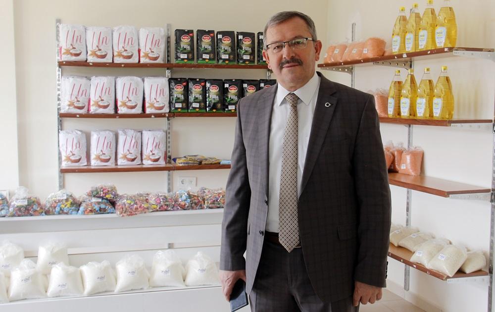 Göksun'da Sosyal Market İhtiyaç Sahibi Vatandaşa Cansuyu Oldu!
