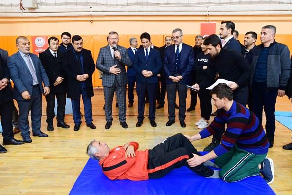 Göksun'da Yaşam Boyu Spor Projesi Başladı!