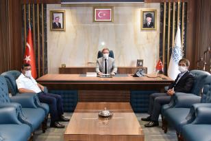 Yeni Milli Eğitim Müdüründen Başkan Aydın'a ziyaret!