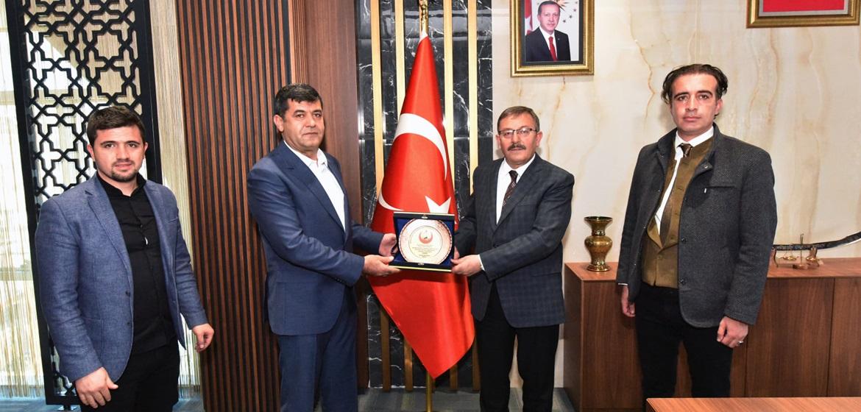 Büyükkızılcık Derneği Yönetiminden Başkan Aydın'a ziyaret!