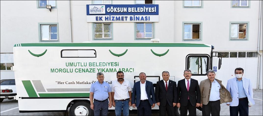 GÖKSUN'DAN UMUTLU BELDESİNE YARDIM ELİ!