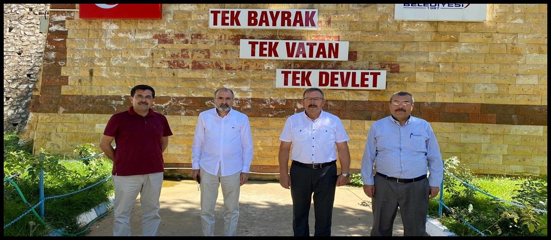 Yavilioğlu ve Koca'dan Göksun'a ziyaret!